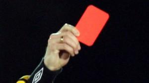 Rødt kort til brok