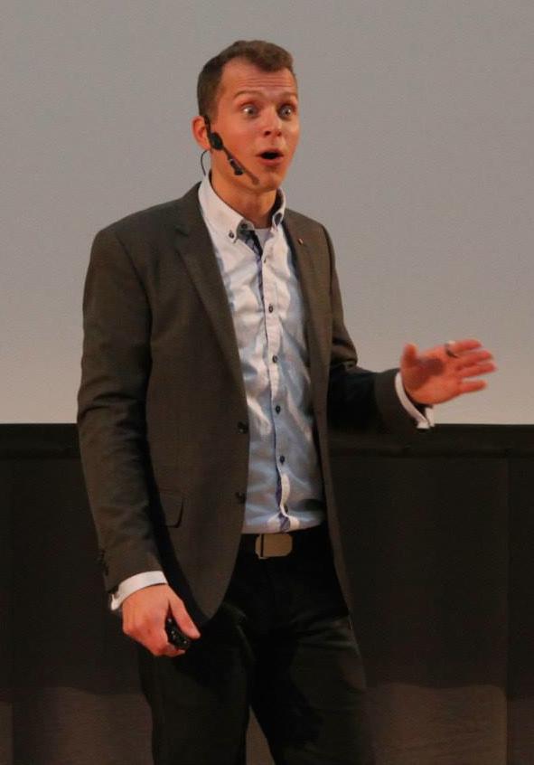 Foredragsholder Jon Kjær Nielsen