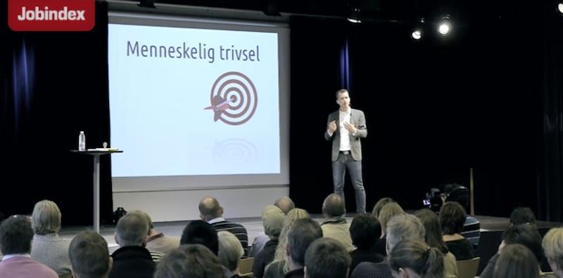 Arbejdsglæde foredrag om trivlsen