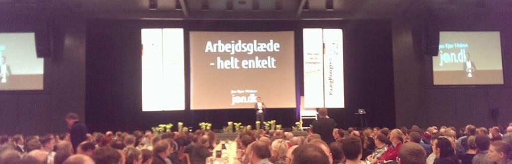 Foredrag om arbejdsglæde, med Jon Kjær Nielsen, til kvægkongres