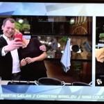 Selfie på live TV - ekspert i arbejdsglæde besøger go'aften danmark til indslag om leg på jobbet